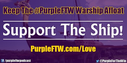Purple FTW Sponsors Love Warship Support