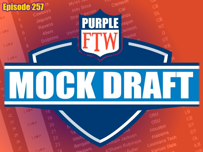 FTW Mock Draft