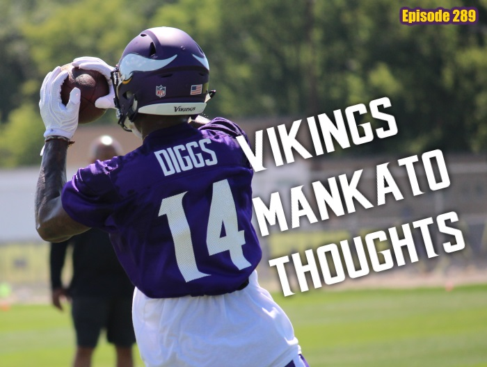Minnesota Vikings Mankato Training Camp Stefon Diggs