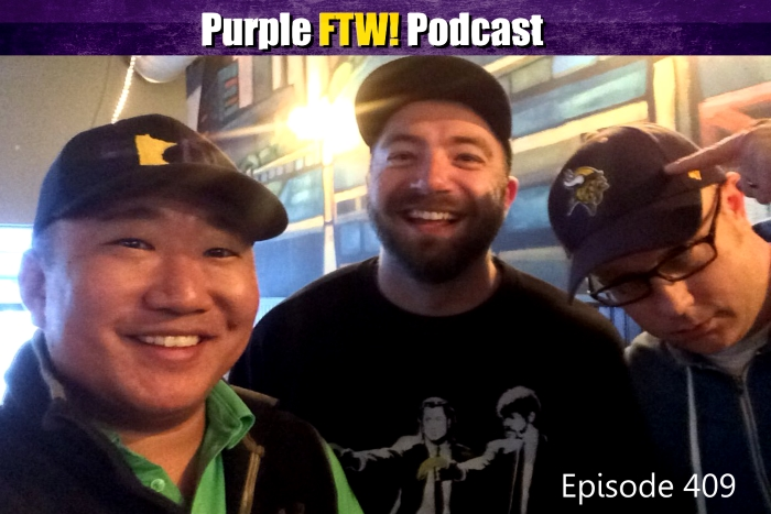 Purple FTW! Podcast: Vikes Over Beers feat. Matt Helgeson and Logan Lafferty (ep. 409)