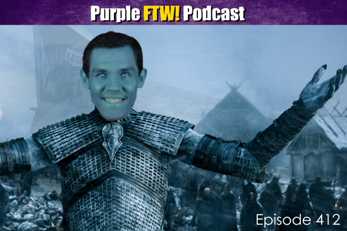 Purple FTW! Podcast: Vikings-Saints Recap: We Own The North (ep. 412)