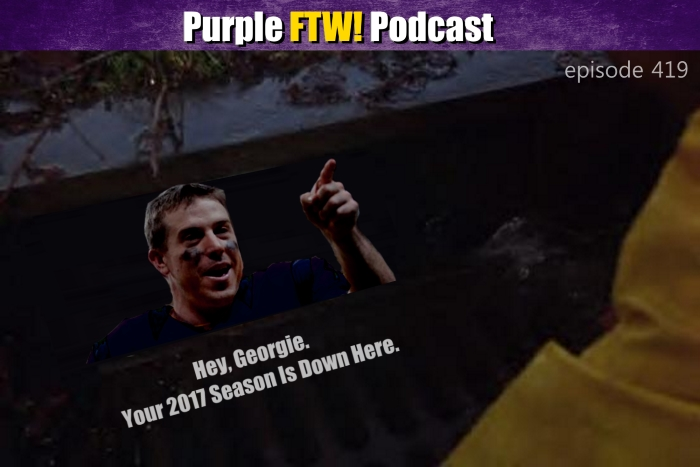 Purple FTW! Podcast: Can the Vikings Get IT Back? feat. Josh Pelto & Luke Inman (ep. 419)