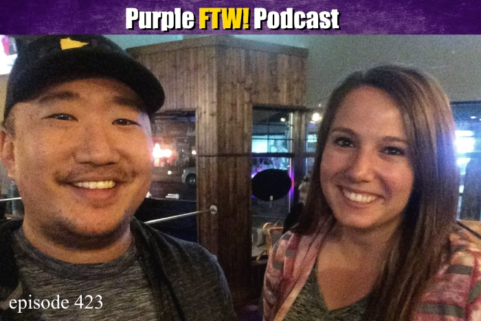 Purple FTW! Podcast: New Vikings Blood feat. Courtney Cronin & Darren Wolfson (ep. 423)