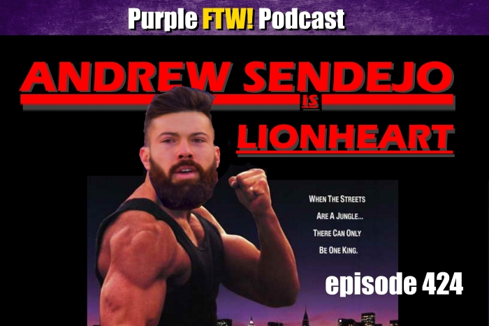 Purple FTW! Podcast: Lionheart with Michael Grey & Vikes Over Beers feat. Josh Pelto (ep. 424)