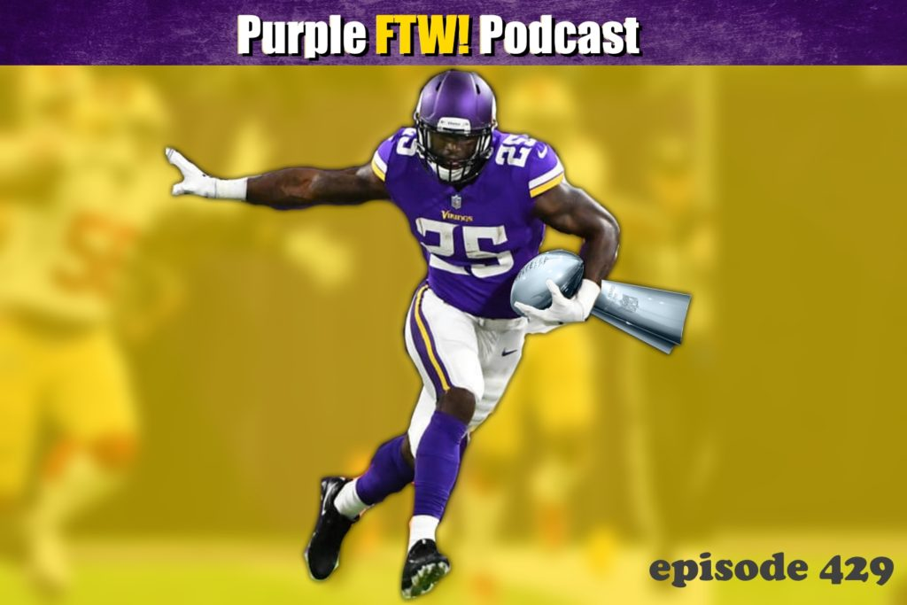 Purple FTW! Podcast: All Hail Latavius Caesar feat. Joe Duffy & Josh Pelto (ep. 429)