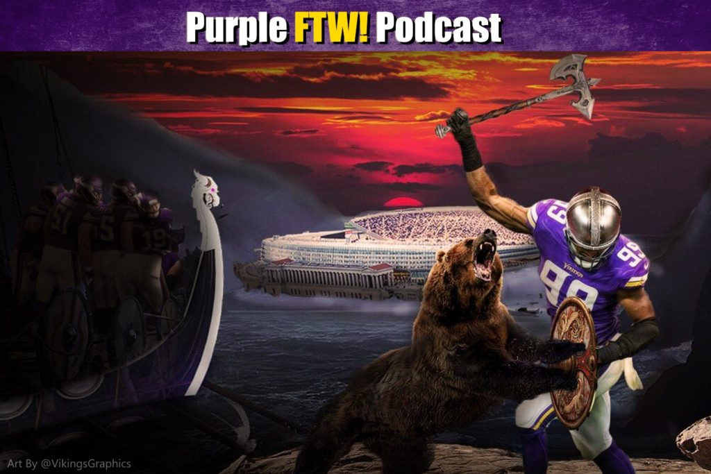 Purple FTW! Podcast: Vikings-Bears Preview feat. Julie DiCaro & @JReidDraftScout (ep. 430)