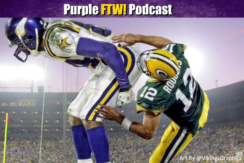 Purple FTW! Podcast: Vikings-Packers Preview feat. Joe Duffy + @JReidDraftScout (ep. 434)