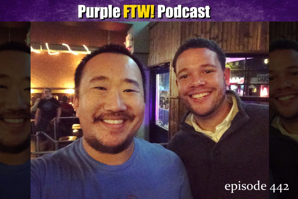 Purple FTW! Podcast: Oooooooo Vikewolves of London feat. Myles Gorham (ep. 442)