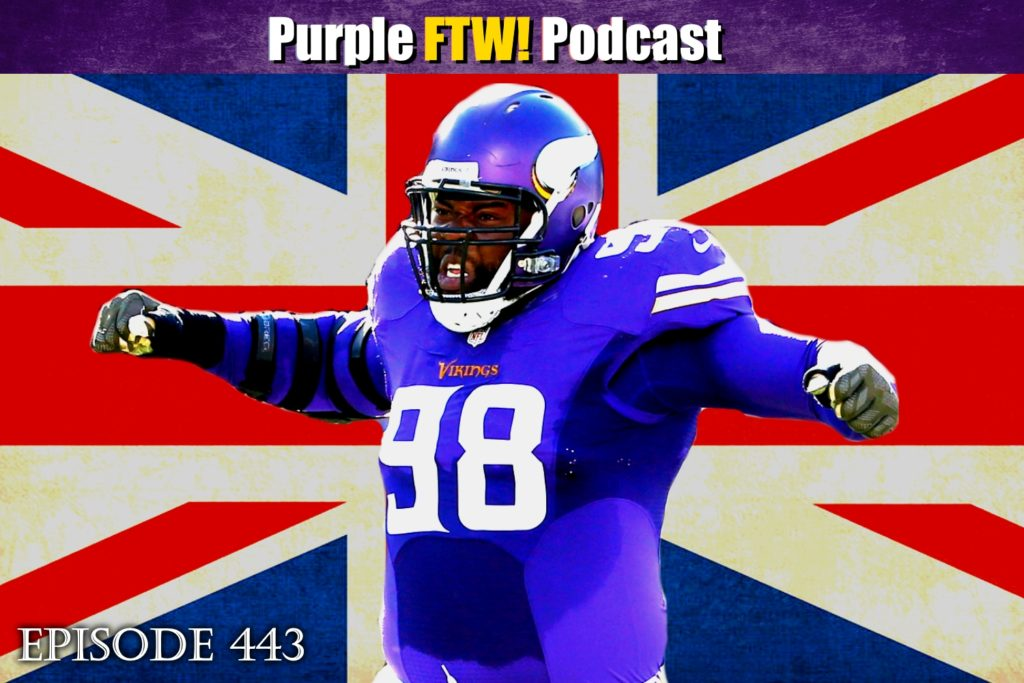 Purple FTW! Podcast: Twickenham & Cheese feat. Josh Pelto + Darren Wolfson (ep. 443)