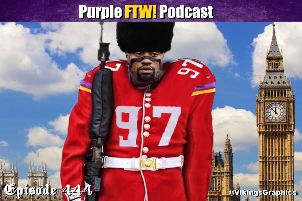 Purple FTW! Podcast: Vikings-Browns Preview feat. Jeff Lloyd + Peter Carline + Offshore Insiders (ep. 444)