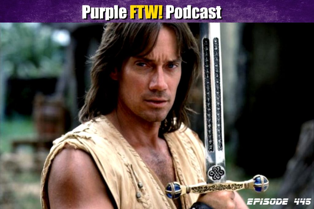 Purple FTW! Podcast: Interview with Vikings Fan Kevin Sorbo (ep. 445)
