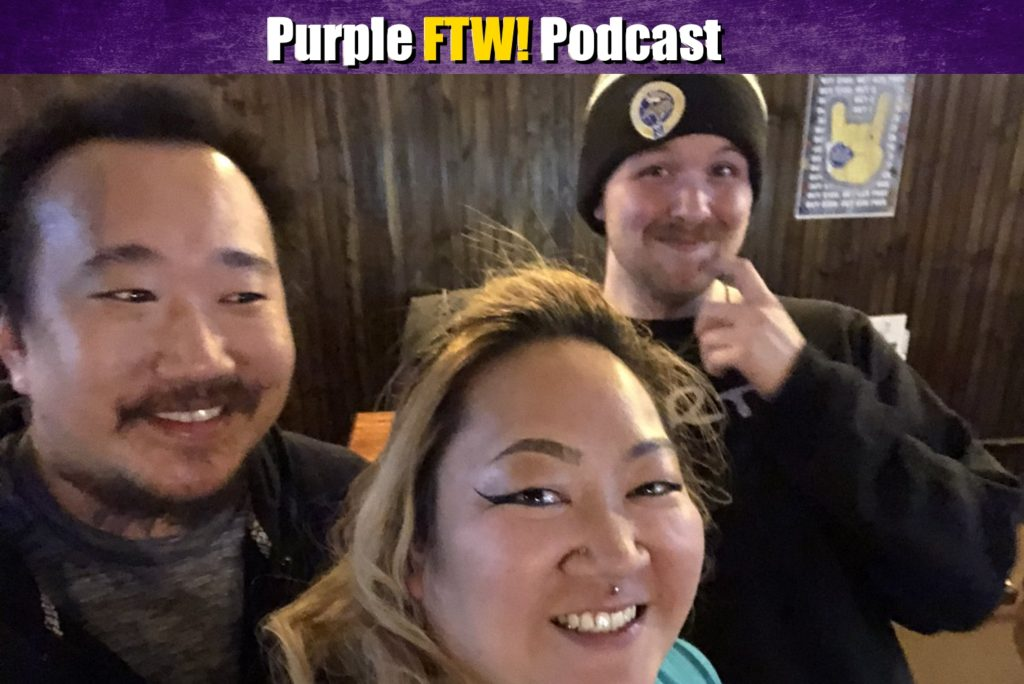 Purple FTW! Podcast: Vikings Free For All feat. BJ Reidell + Panda (ep. 466)