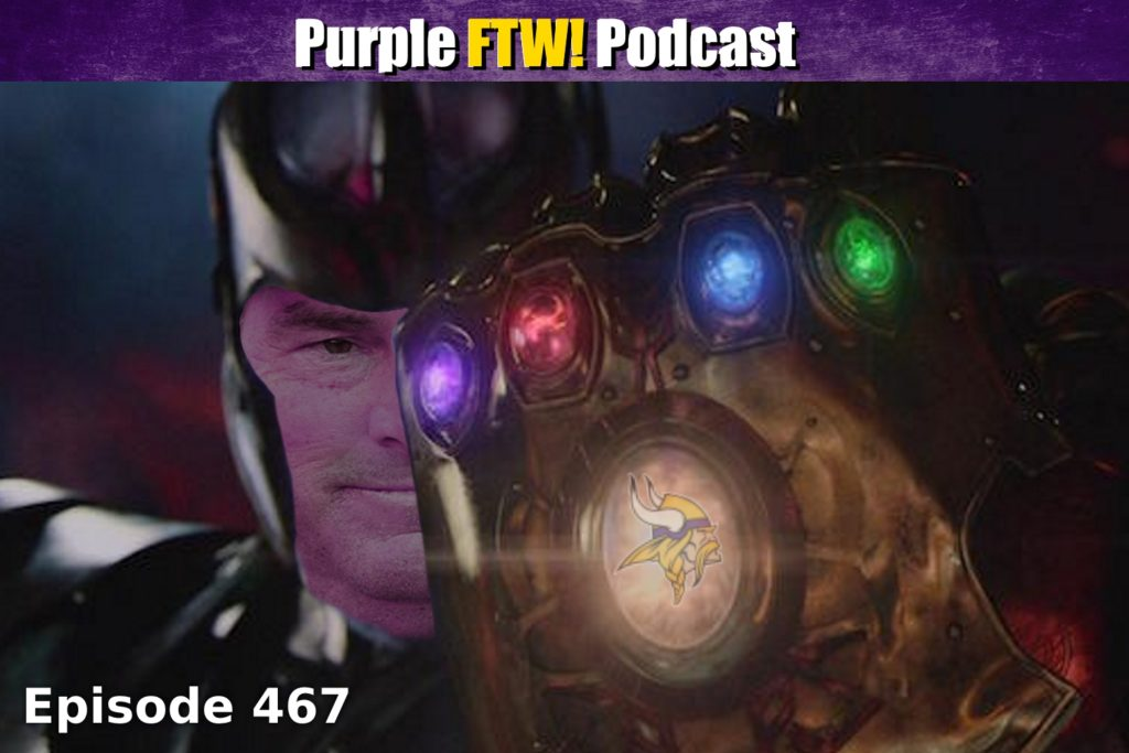 Purple FTW! Podcast: Vikefinity Wars feat Darren Wolfson and Josh Pelto (ep. 467)