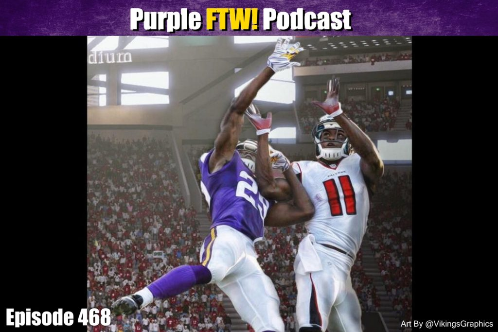 Purple FTW! Podcast: Vikings-Falcons Preview with Charles Mcdonald + Offshore Insiders (ep. 468)