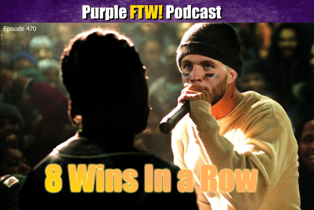 Purple FTW! Podcast: Vikings are the 1-Seed Edition of Tell the Truth Tuesday (ep. 470)