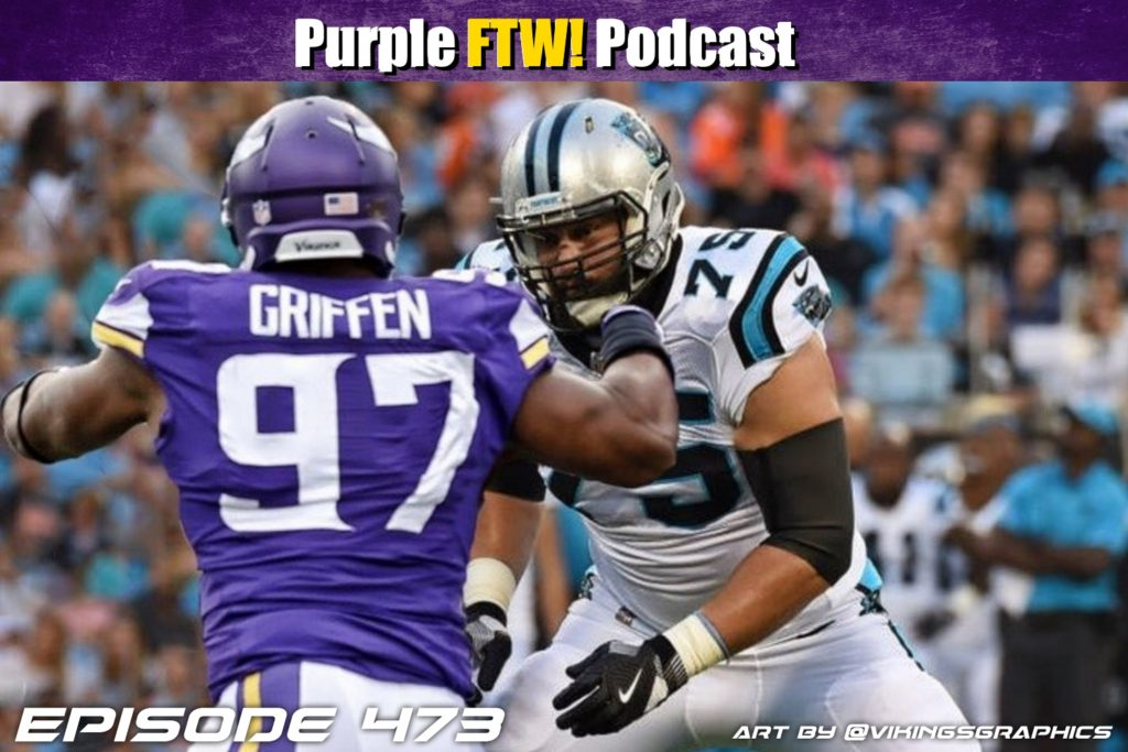 Purple FTW! Podcast: Vikings-Panthers Preview feat. @JReidDraftScout + Travis Hancock + Offshore Insiders (ep. 473)
