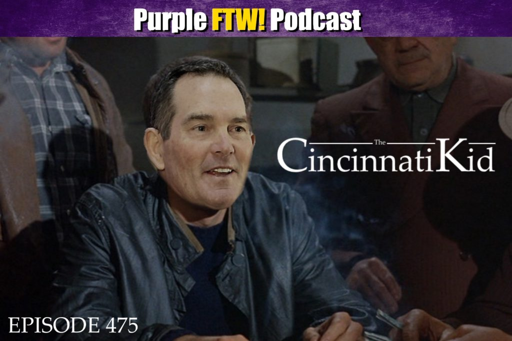 Purple FTW! Podcast: We're On To Cincinatti feat. @JReidDraftScout (ep. 475)