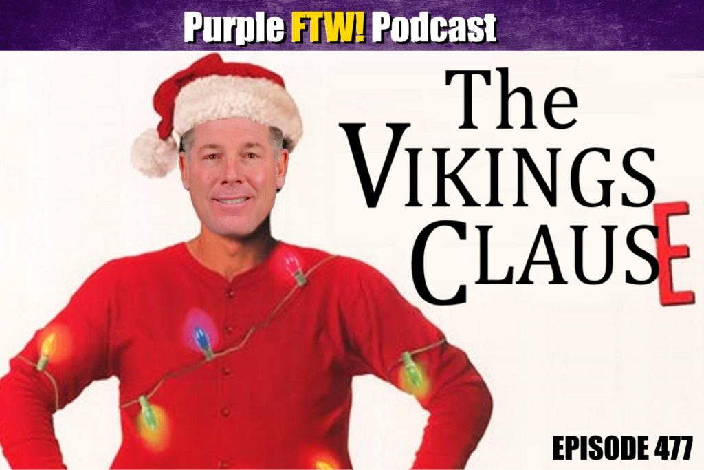 Purple FTW! Podcast: 'Tis the Season feat. Darren Wolfson + Vikes Over Beers with Josh Pelto (ep. 477)