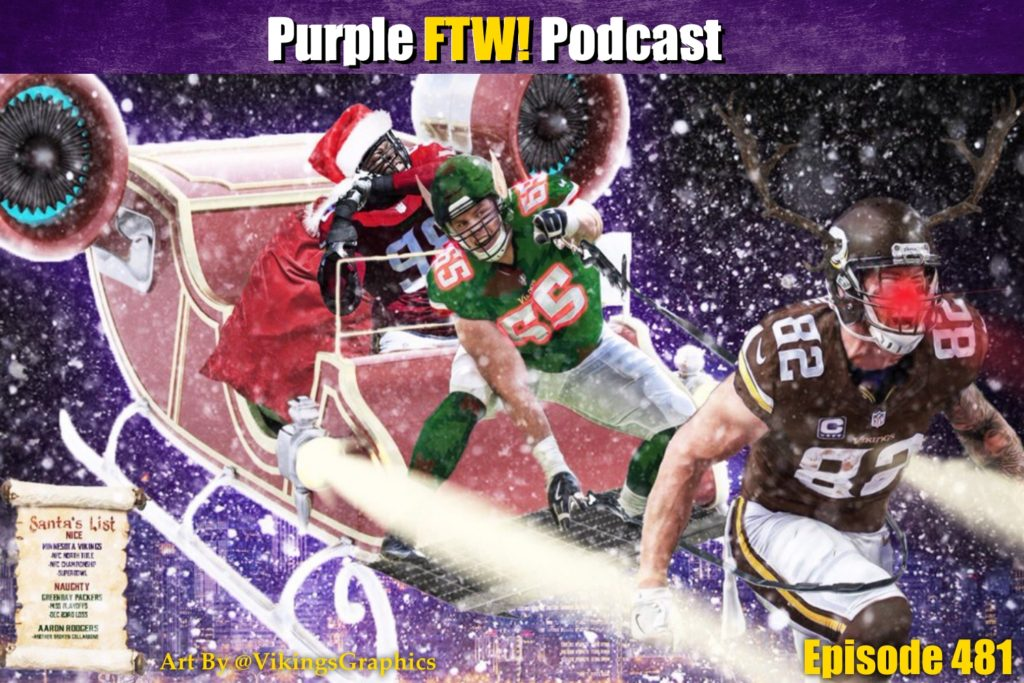 Purple FTW! Podcast: Silent Pack. Holy Vikes. feat. @JReidDraftScout & Darren Wolfson (ep. 481)