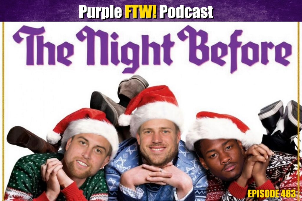 Purple FTW! Podcast: Vikings-Packers Preview feat. Offshore Insiders Plus Holiday Mailbag! (ep. 483)