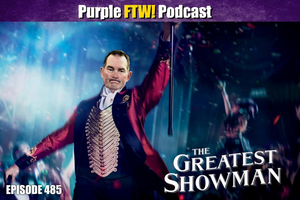 Purple FTW! Podcast: Back on the Grind feat. Darren Wolfson & Producer Allie (ep. 485)