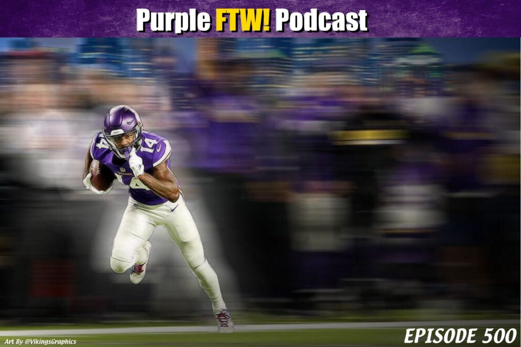 Purple FTW! Podcast: Episode 500! Feat. Alexis Chassen & Darren Wolfson (ep. 500)