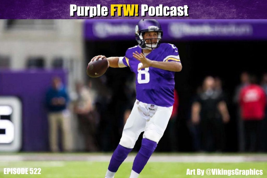 Purple FTW! Podcast: Friday Free Agent Fest Fun feat. @JReidDraftScout + Vikes Over Beers (ep. 522)