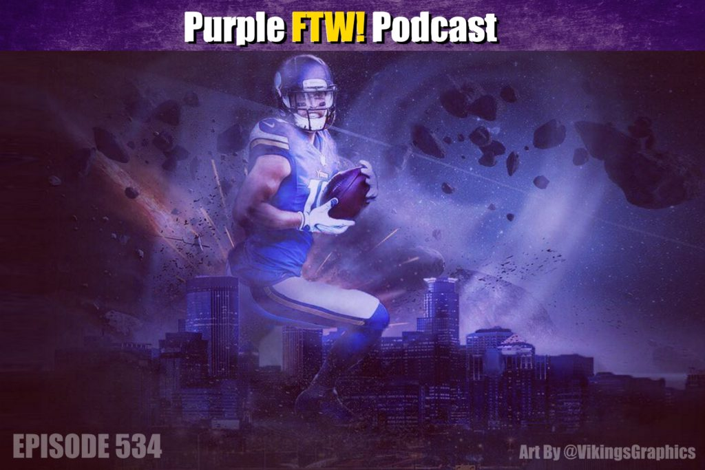 Purple FTW! Podcast: Friday Vikings Roundup feat. @JReidDraftScout + Darren Wolfson (ep. 534)