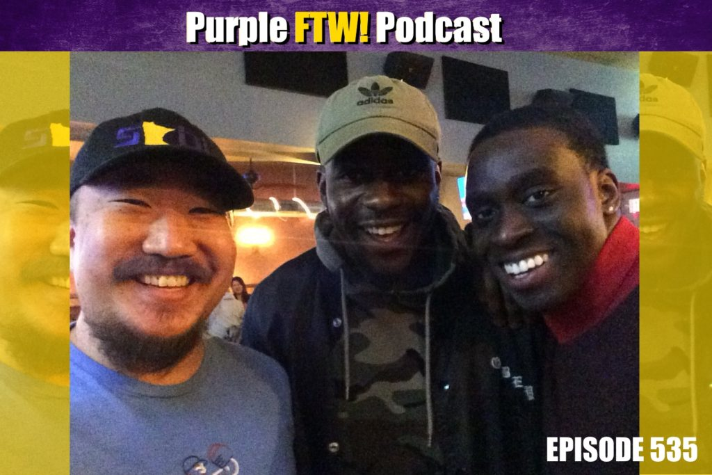 Purple FTW! Podcast: NFL Draft Dreams feat. Kunle Ayinde (ep. 535)