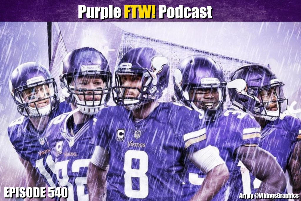 Purple FTW! Podcast: Vikings Draft Vibes Friday feat. Darren Wolfson + @JReidDraftScout (ep. 540)