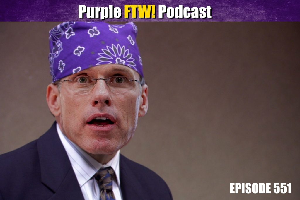 Purple FTW! Podcast: Offensive Line Is Fine feat. Brandon Thorn + Vikes Over Beers! (ep. 551)