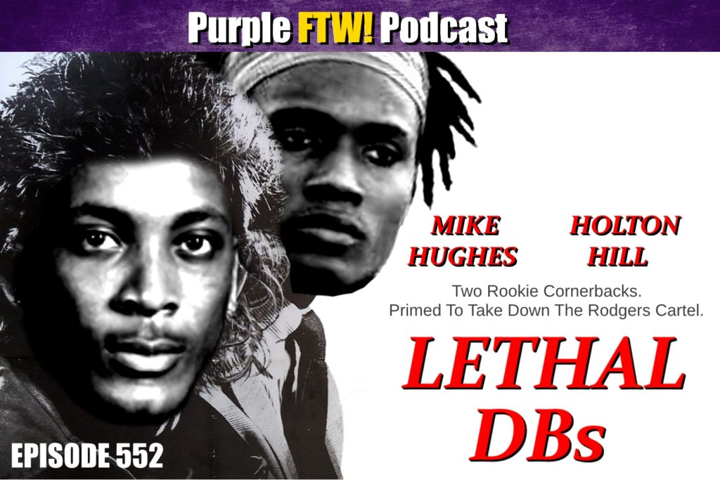 Purple FTW! Podcast: Vikings Cornerback Deep Dive feat. Ian Wharton + SCOOPS with Darren Wolfson (ep. 552)