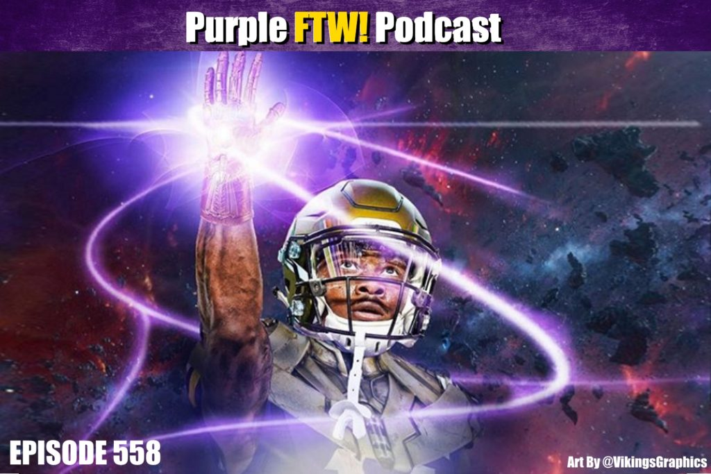 Purple FTW! Podcast: Friday Football Firesale feat. Darren Wolfson & @JReidDraftScout (ep. 558)