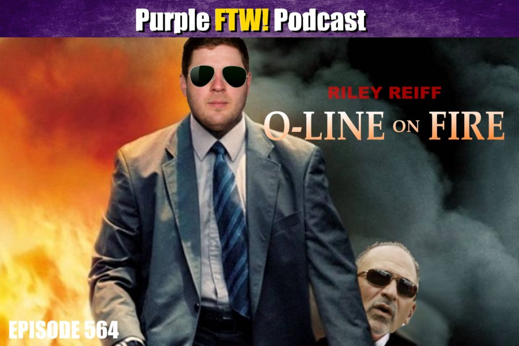 Purple FTW! Podcast: Vikings Offensive Line on Fire feat. Jim Sannes + #VikesOverBeers! (ep. 564)