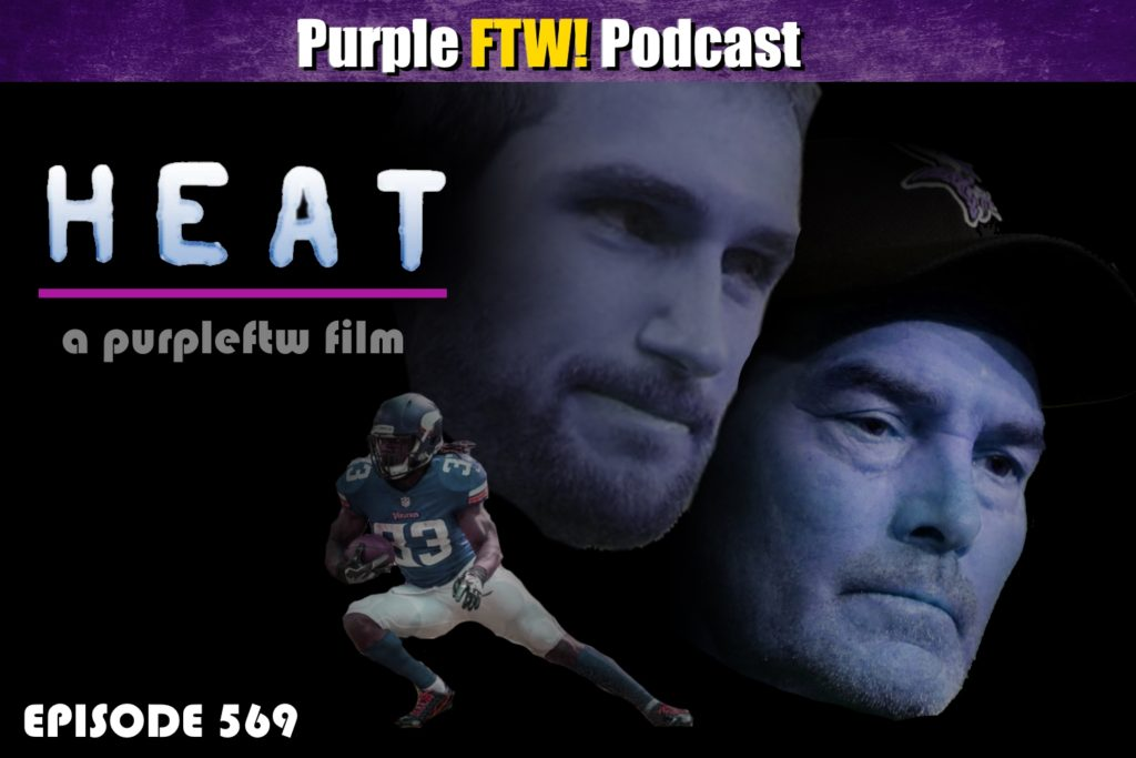 Purple FTW! Podcast: Mandatory Mini Camp Heat feat. Alex Gelhar + #VikesOverBeers! (ep. 569)
