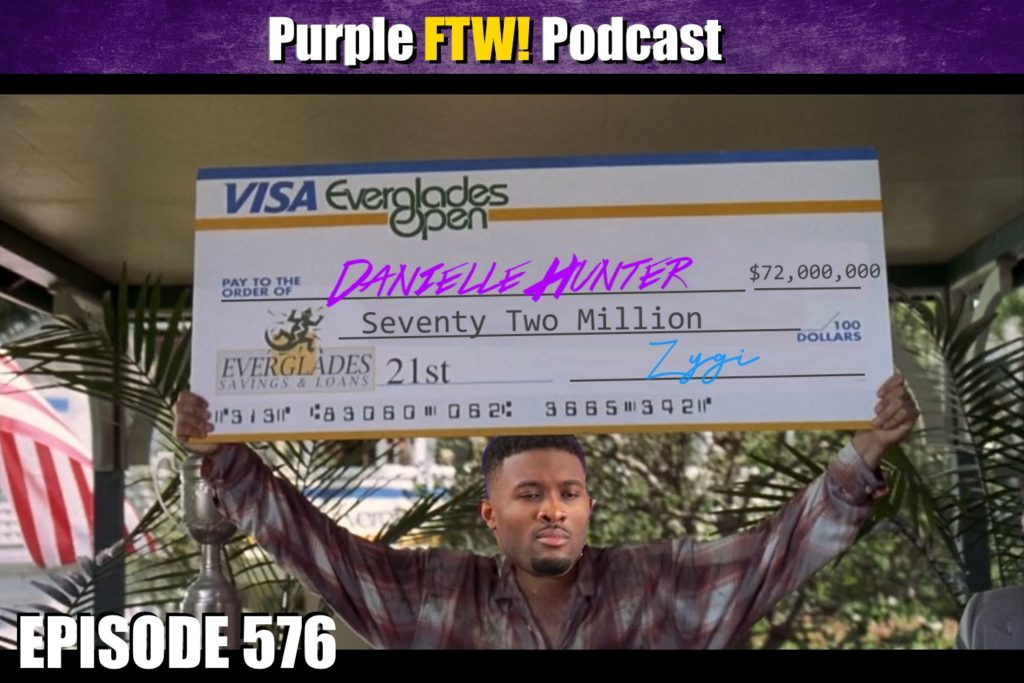 Purple FTW! Podcast: Happy Daniellemore feat. @JReidDraftScout + Darren Wolfson (ep. 576)