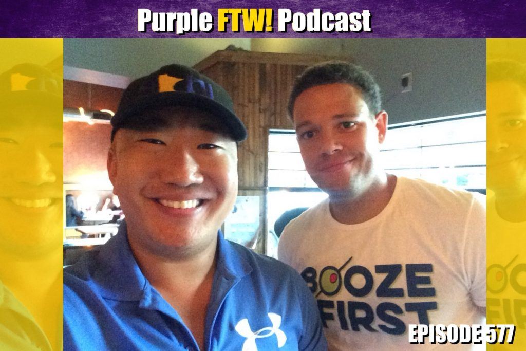 Purple FTW! Podcast: Beef with Kirk Cousins' Beef feat. Myles Gorham (ep. 577)