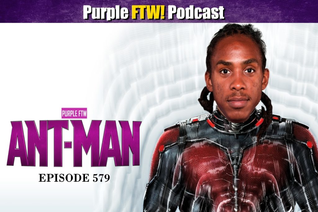 Purple FTW! Podcast: Friday Football Beast feat. Darren Wolfson + #VikesOverBeers! (ep. 579)