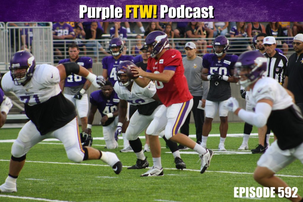 Purple FTW! Podcast: Vikings Training Camp Q&A (ep. 592)