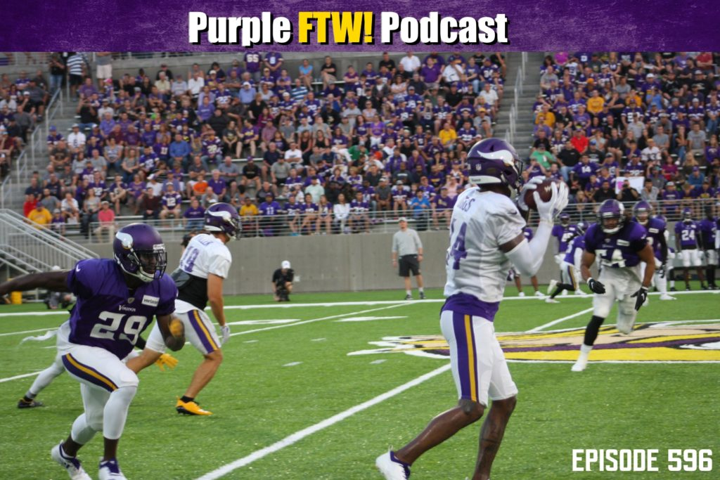 Purple FTW! Podcast: No Fighting on a Friday feat. Darren Wolfson + @JReidNFL (ep. 596)