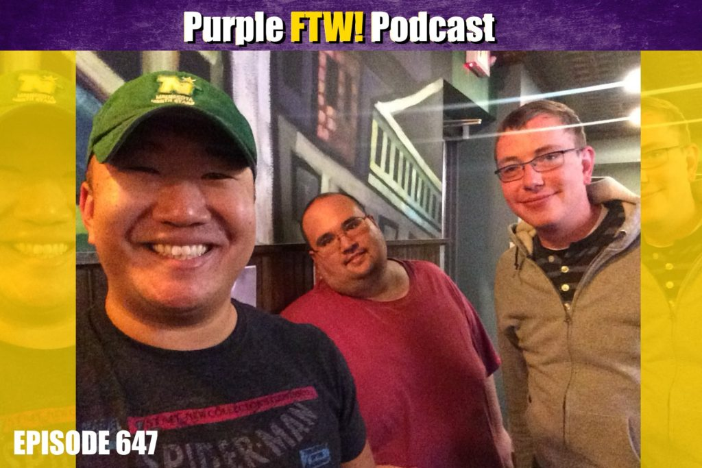 Purple FTW! Podcast: An Extended Vikes Over Many Beers! (ep. 647)