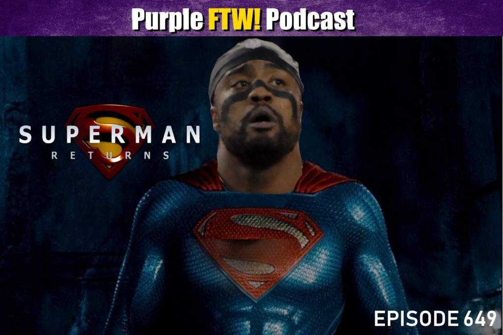 Purple FTW! Podcast: Welcome Back, Everson feat. Deuce Windham + #VikesOverBeers (ep. 649)