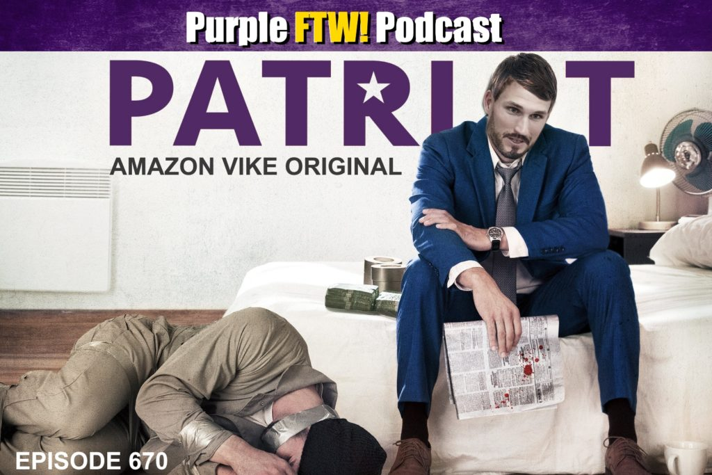 Purple FTW! Podcast: Can the Vikings Win in Foxboro in December? feat. Sam Monson + #VikesOverBeers! (ep. 670)