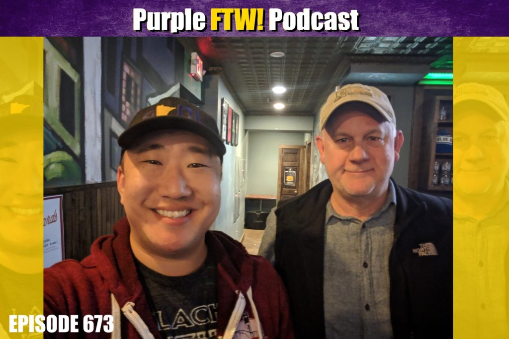Purple FTW! Podcast: Vikings On The Edge feat. Joe Oberle (ep. 673)