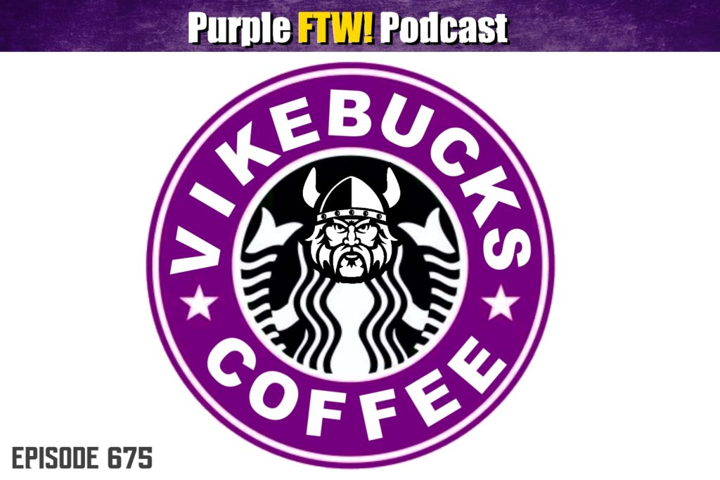 Purple FTW! Podcast: This Coffee Has No Kick feat. Darren Wolfson + #VikesOverBeers! (ep. 675)