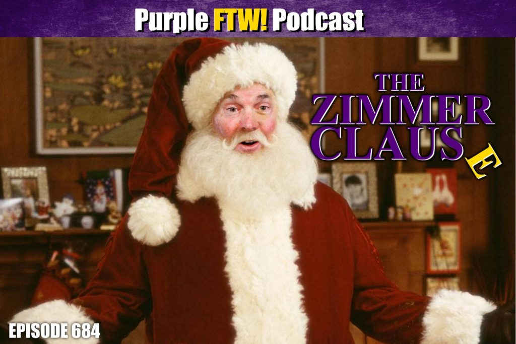 Purple FTW! Podcast: The Zimmer Clause feat. Michael Grey + #VikesOverBeers! (ep. 684)