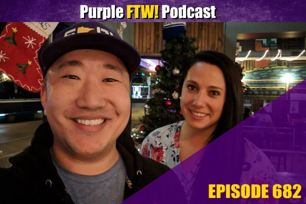 Purple FTW! Podcast: Vikings Rebound. Stefanski Savior. Playoffs??? feat. Courtney Cronin (ep. 682)